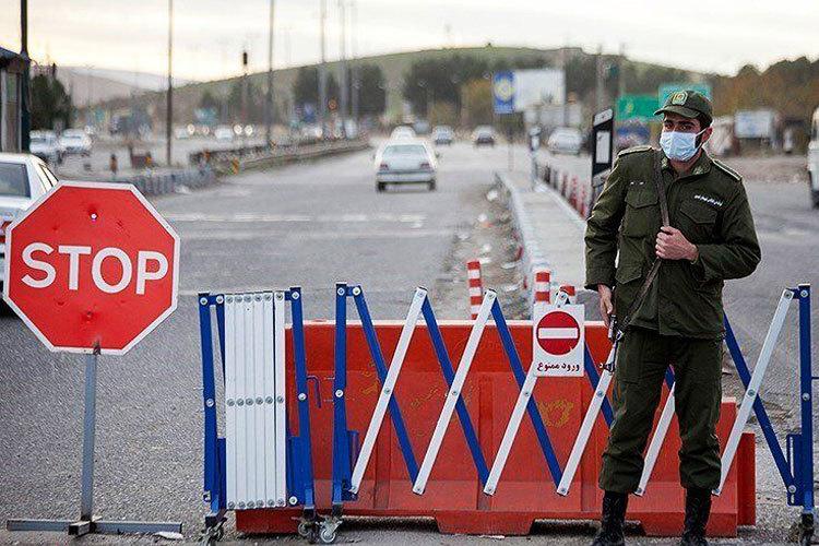 ممنوعیت تردد+پلیس+محدودیت+ترافیک+عبارت