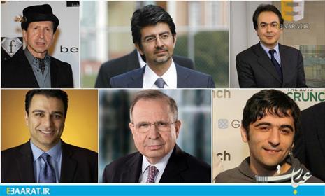 بزرگترین میلیاردرهای ایرانی