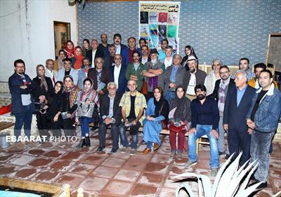 نشست هم اندیشی جمعی از هنرمندان شاخص مازندران در ساری