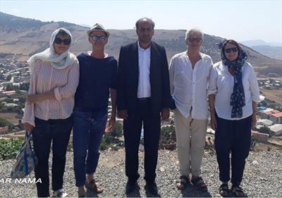 گردشگران خارجی در مازندران+عبارت