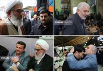مراسم ترحیم ابوشهدا حاج حسن عبوری در شاهزاده حسین ساری+عبارت