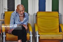 بازدیددکتر آرام و دکتر یوسف نژاد از مراکز سالمندان ساری+عبارت