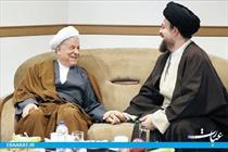 هاشمی و سیدحسن خمینی-سایت عبارت
