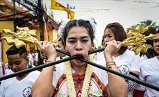 ترسناک ترین جشنواره جهان در تایلند