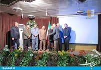مراسم تودیع و معارفه در بزرگترین شرکت مازندران