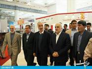 بازديد ربیع فلاح استاندار مازندران از نمايشگاه مطبوعات كشور