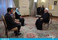 دکتر روحانی در گفت و گوی زنده تلویزیونی