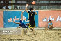 دیدار تیمهای فوتبال ساحلی شهریار ساری و ملوان بندر گز - عبارت
