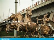 مجسمه آرش کمانگیر ساری