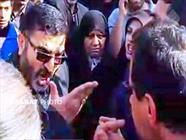 برخورد عجیب فرماندار نکا در راهپیمایی ۲۲ بهمن+عبارت