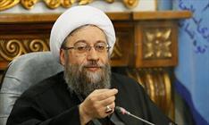 صادق لاریجانی رئیس دستگاه قضا+عبارت