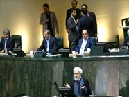 روحانی در مجلس