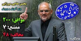 محسن حاجی میرزایی  وزیر جدید آموزش و پرورش + عبارت