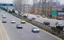 جاده ترافیک خودرو محور ساری- قائمشهر پرتردد ترین محور استان مازندران + عبارت