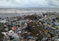 زباله در ساحل محمودآباد+عبارت
