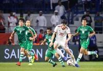 فوتبال ایران و عراق + عبارت