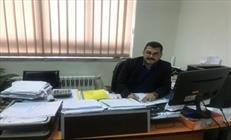 مهندس معزمیرموسایی رئیس اداره نظارت بر ساخت راهها  + عبارت
