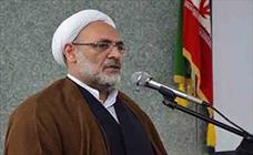 حجت الاسلام اکبری رئیس کل دادگستری مازندران+عبارت