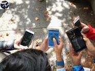 دانش آموزان+موبایل+عبارت