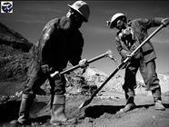 کارگران معدن+عبارت