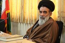 حجتالاسلام والمسلمین حسینی خراسانی+عبارت