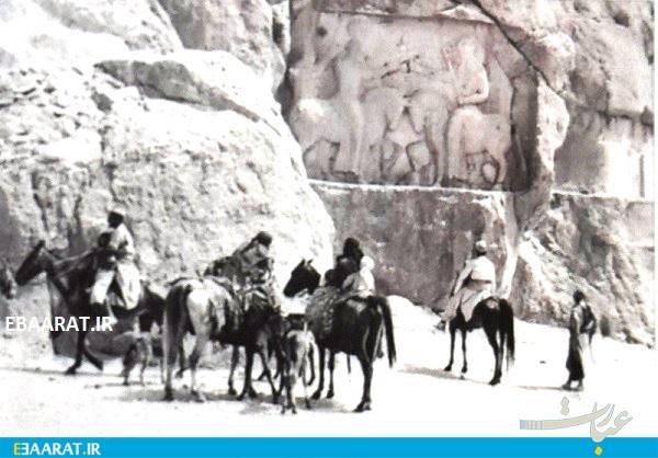 کوچ عشایر شیراز۱۹۵۸ - سایت عبارت