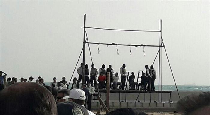 اعدام ۴ جوان در جزیره قشم