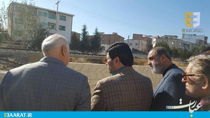 بازدید شهردار بابل از پروژه های ساری- سایت عبارت