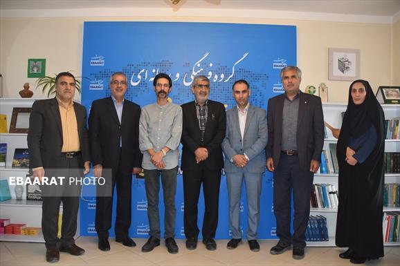 بازدید علی محمد شاعری؛ نماینده شرق مازندران و عضو کمیسیون کشاورزی مجلس از دفتر مرکزی عبارت+عبارت