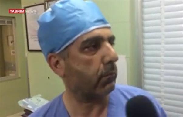 دکتر جراح بیمارستان گرگان و تصادف رییس سازمان تامین اجتماعی+عبارت