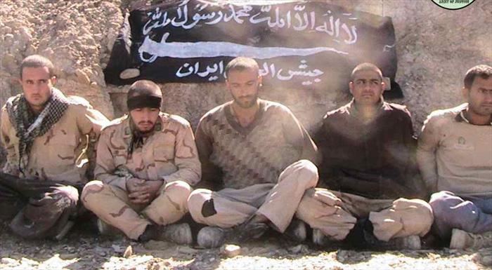 گروگان گرفتن سربازان ایرانی در میرجاوه+عبارت