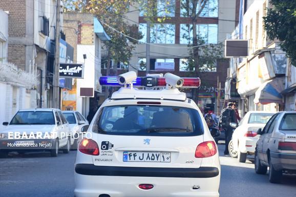 رونمایی از ۲ خودروی ثبت تخلف سیار در ساری+عبارت