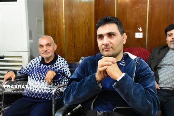 مراسم روز جهانی معلولین+عبارت