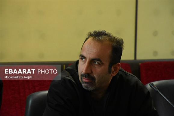 نشست خبری فرماندار میاندرود با اصحاب رسانه +عبارت