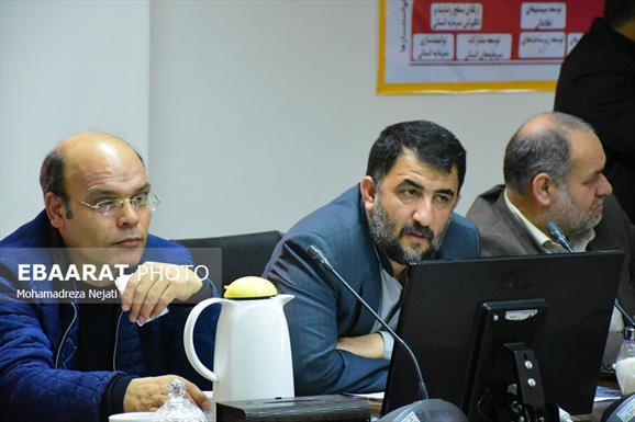 نشست خبری مدیر عامل شرکت گاز مازندران+عبارت