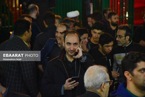اولین سالگرد رحلت ابوالشهدا حاج حسن عبوری+عبارت