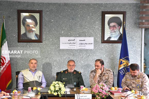 سردار بابایی فرمانده سپاه کربلا استان مازندران+ عبارت