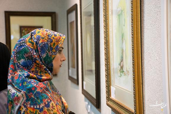 نمایشگاه نگارگری عاشورا+عبارت