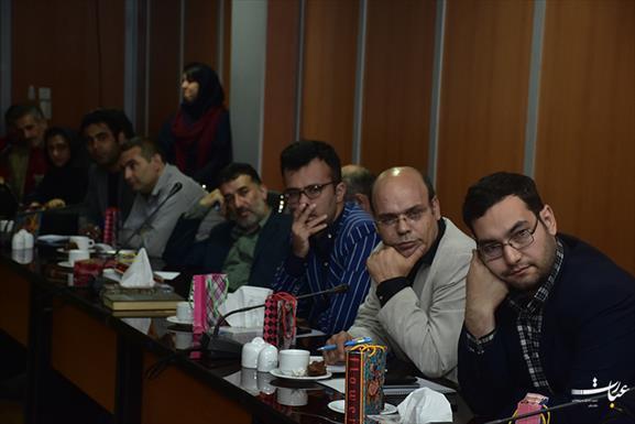 نشست خبری عباس زارع+عبارت