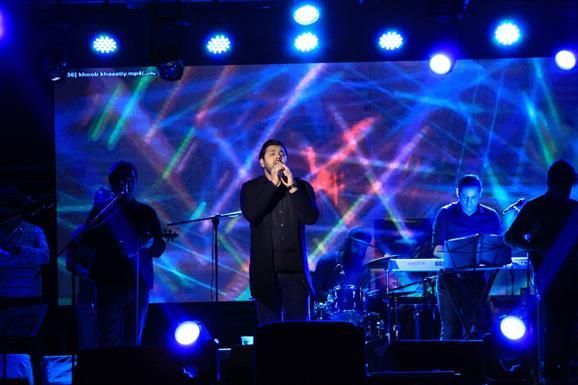 کنسرت خواجه امیری+عبارت