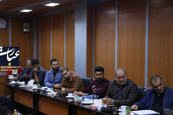 نشست خبری معاون سیاسی استانداری مازندران+عبارت