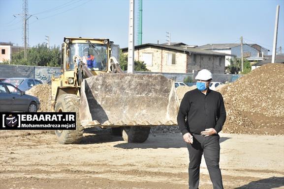 عملیات اجرایی فاز دو پروژه پل تا پل در ساری+عبارت
