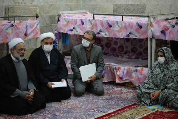 بازدید  رئیس کل دادگستری مازندران از زندان های بابل و بهشهر+عبارت