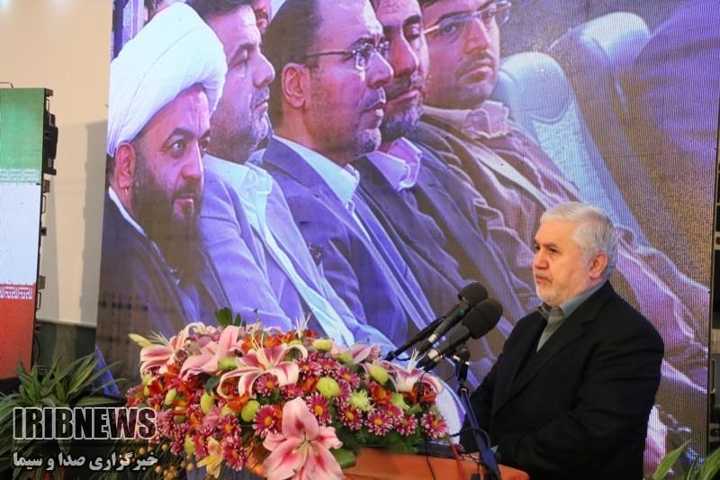 مراسم معارفه هادی ابراهیمی مدیرکل صداوسیمای مازندران+عبارت